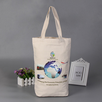 Custom wholesale 100% recycled eco cotton bags thailand