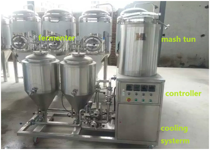 2 Or 3 Bbl Electric Used Micro Brewing System Buy 2 Or 3