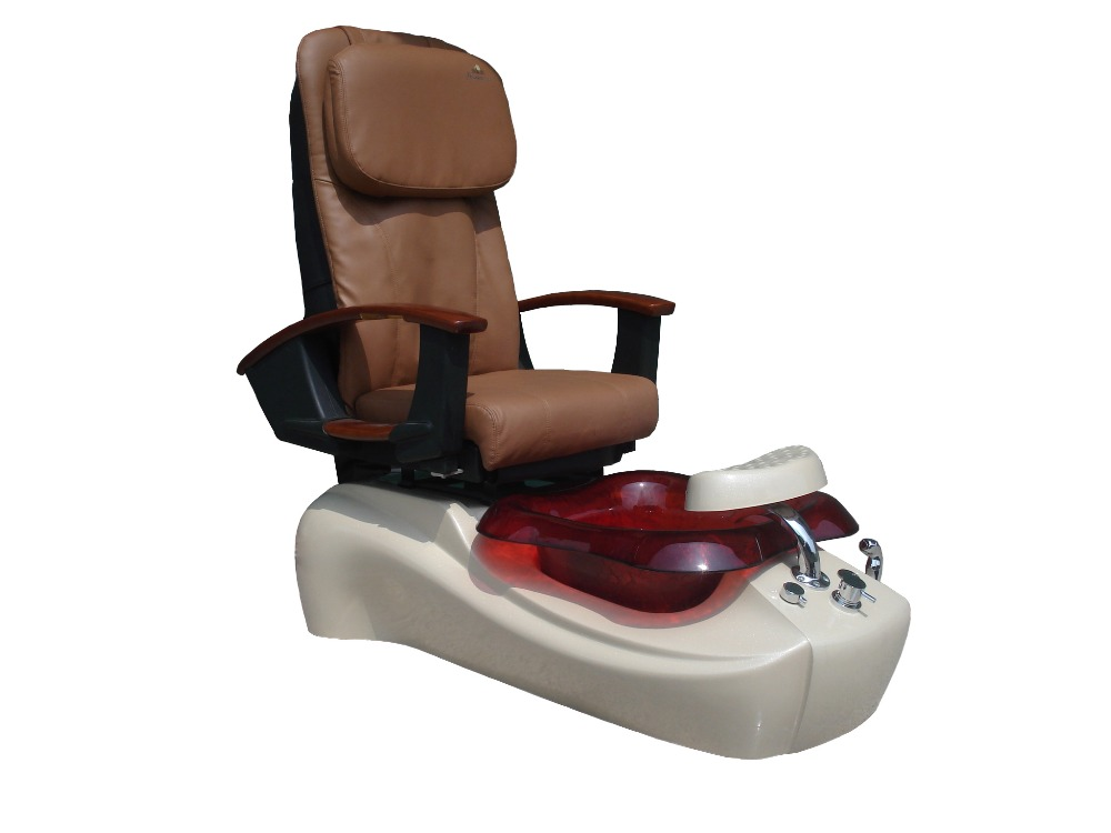 Nail Salon Furniture Used Pedicure Foot Spa Chair, Reclining Massage Spa Foot  Chair With Adjustable