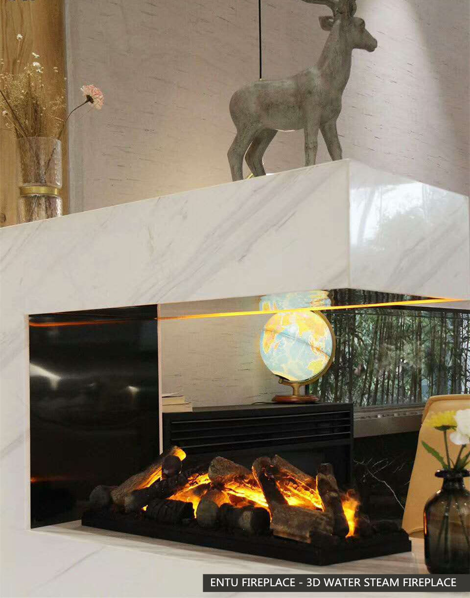 cheap fire fireplace fake decorative electric fireplace 3d water