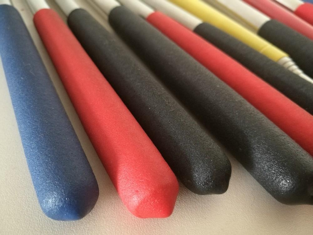 Set fahnenstangen mit wandhalterung aus nylon max länge