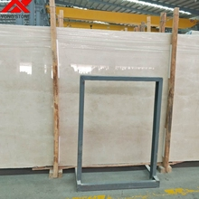 New cream marfil marble 1.8cm thick raw big slabs on sale