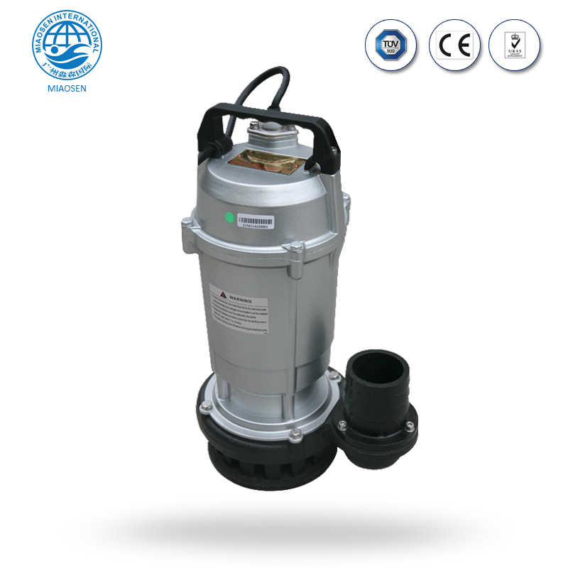 China Factory Wholesale QDX Clear Single Phase Submersible Water Pump