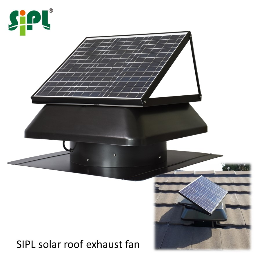 Solar Power Fan >> Solar Power Ventilation Dc Electric Fan Industrial Roof Stand Heat Exhaust Fan Attic Air Suction Vent Cooling Conditioner Buy Industrial Roof