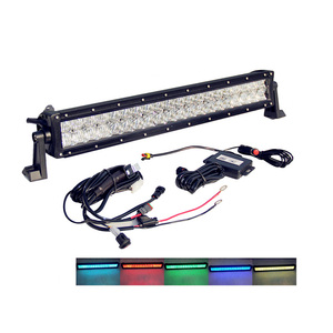 Strobe Bar Offroad RGB Lighting Truck 52inch 300w Led Flood Light