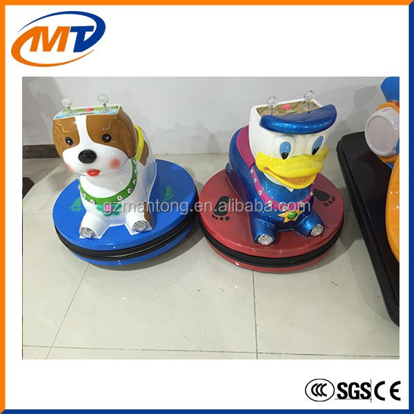 Coin operated Animal bumper car walking animal