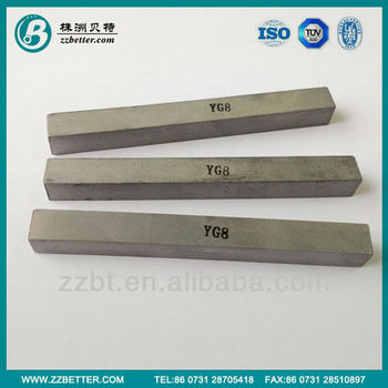 High performance tungsten carbide flat for tool parts