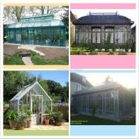 beautiful victoria garden house green house conservatory