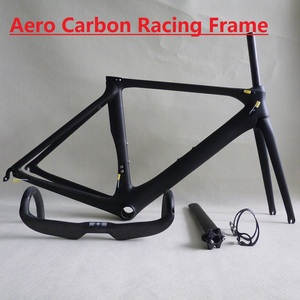Aero Carbon Road Racing Bike Frame Only 1140g