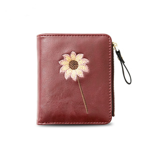 New product ideas Small pocket wallets for girl leather lady wallets/women mini wallet latest girls