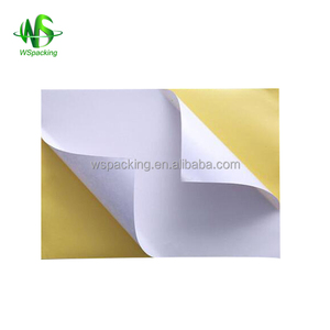 Paper adhesive cheap A4 clothing size stickers size label