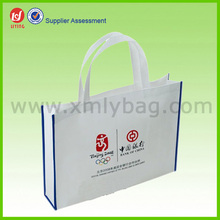 Decorative Reusable Waterproof PP Advertising Bag for Shopping
