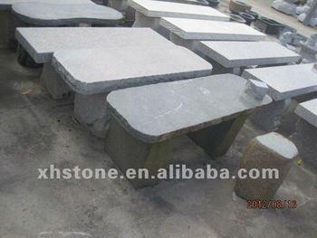 Garden Stone Long Bench , Natural Stone Bench For Garden Furniture