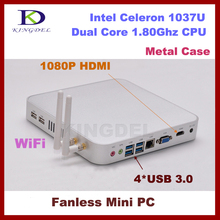 2G RAM+32G SSD Intel Celeron 1037U small computer Dual Core 1.8GHz,4*USB 3.0,HTPC,WIFI, 3D game computer,nettop pc
