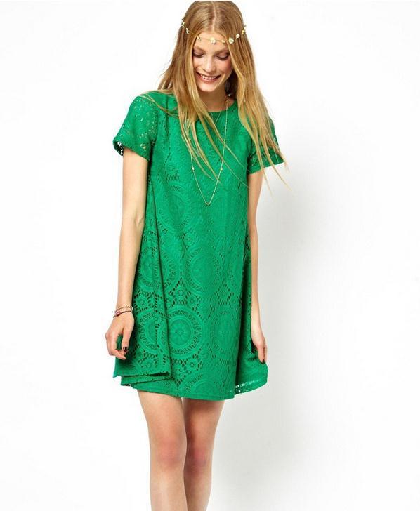 Cute Green Dresses