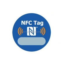Custom printing passive nfc tag sticker /rfid ring tag for smart phone