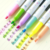 zhejiang wholesale cheap elegant pen style plastic highlighter marker