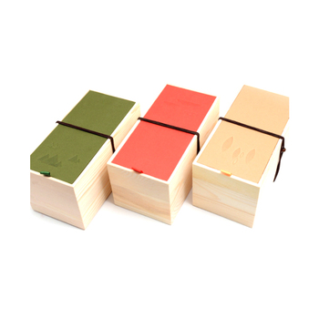 Free sample High-Quality High-Grade Solid wood tea packaging gift box