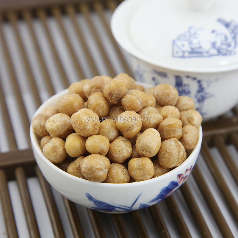 Garlic Flavor Chickpea Snacks,roasted chickpeas