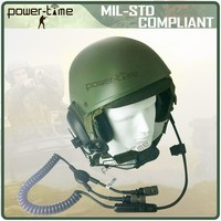 military radio equipment headset with anti-explosion helmet