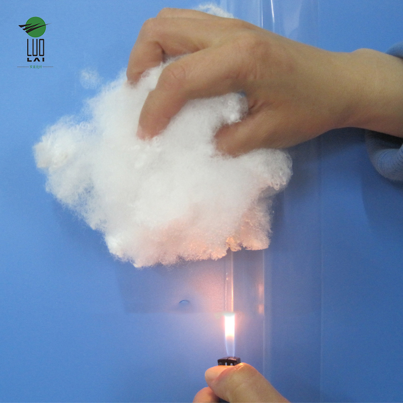 15dx64mm polyester fiber flame retardant
