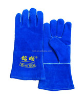 2016 High Quality Cow Leather Fingerless Gloves