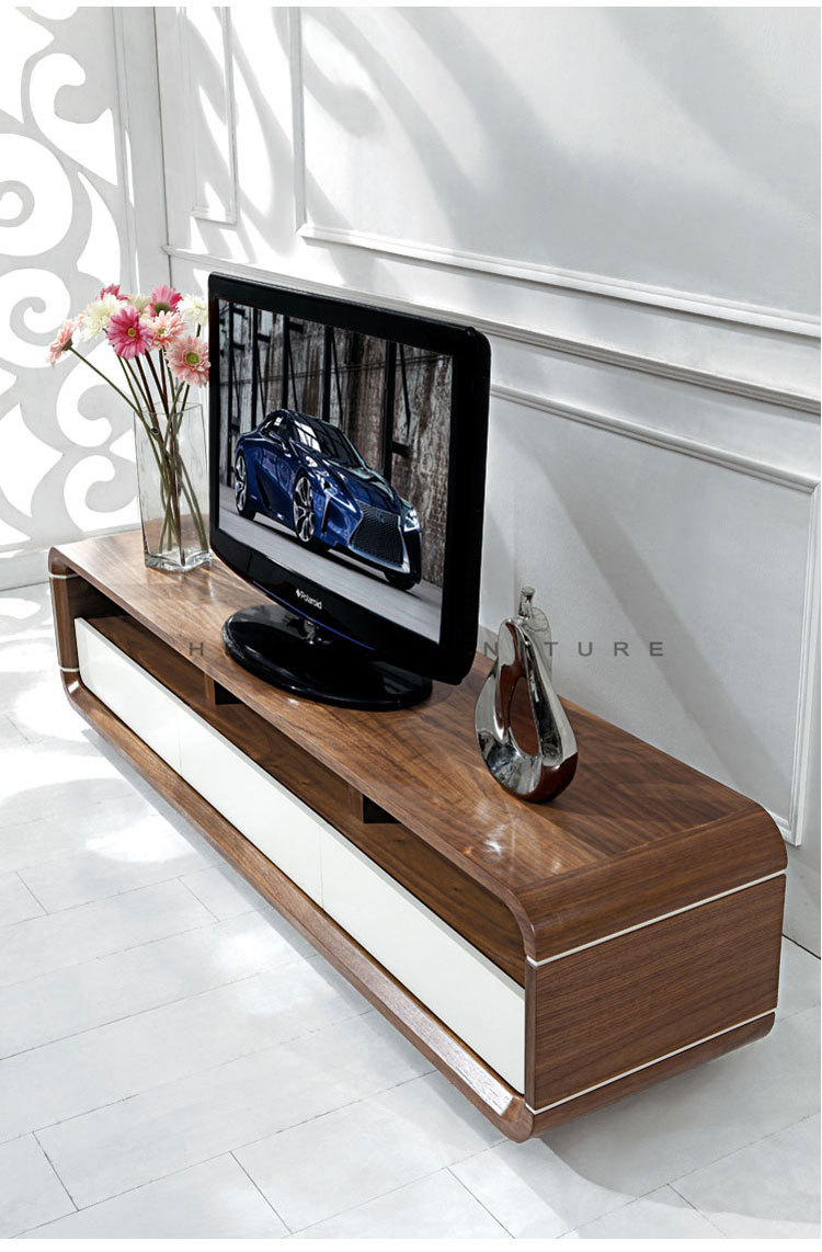 Cran Plat En Bois Vintage Meuble Tv Table Tv Buy Product On  # Table Televiseur Ecran Plat En Bois