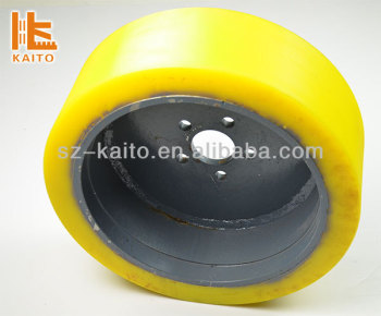 Polyurethane Solid Tire in stock for Wirtgen Milling Machine