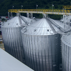 great flat bottom grain silo manufacturer for wheat corn storage