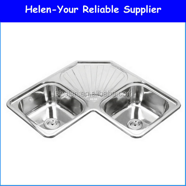 kitchen corner sink kitchen corner sink suppliers and manufacturers at alibabacom - Kitchen Sink Supplier