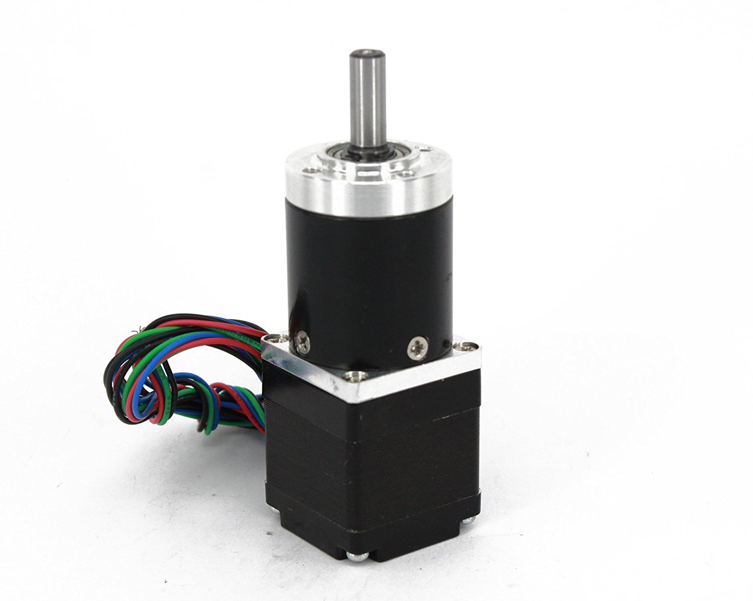 Gear Stepper Motor Nema 11 L=30mm with Planetary Gearbox Ratio 9~20:1 (Ratio 20:1)