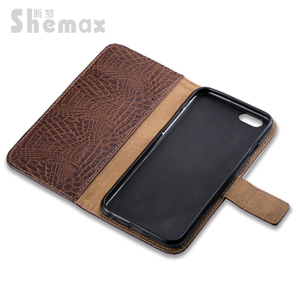 PU Material Flip Wallet Leather cover case for htc desire 626
