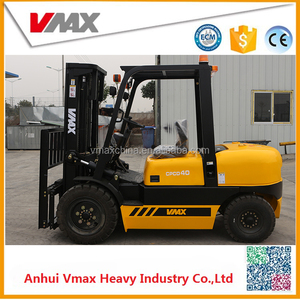 4.0Ton load capacity Diesel Forklift Truck compare to TCM with side shifter