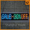 Advertising outdoor advertising light box,3d outdoor waterproof acrylic led letter light box sign for wholesales