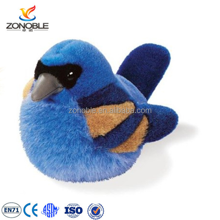 Lovely cute stuffed toy bird custom soft plush bird stuffed animal