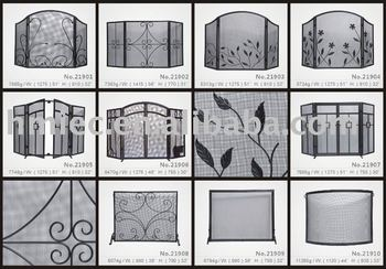Wrought Iron Hand Forged Fireplace Screens Buy Fireplace Screens
