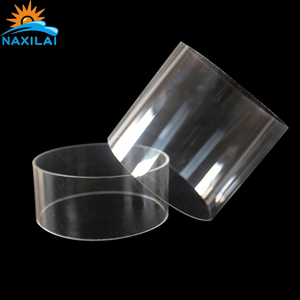 NAXILAI High Quality 4 inch Diameter Glass Clear Tube PC Tube Light 300mm Used As A Light Tube