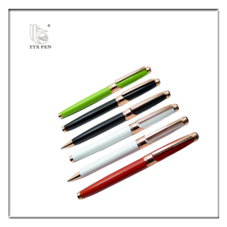 2018 School Supplies Advertising Gifts Promotional Metal Gel Ink Rollerball Pens