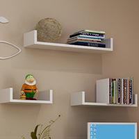 home furniture u shape wall shelf/floating wall shelf/T-shaped CD rack