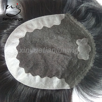 Hot Ing Human Hair Mens Wigs Cactory Supply High Quality Hairpiece Natural