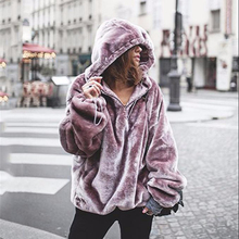 2018 Vrouw Lange Mouwen Casual <span class=keywords><strong>Winter</strong></span> vrouwen oversized hoodie