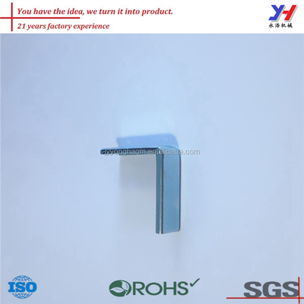 OEM ODM hot sale blue white zinc plate container corner connection