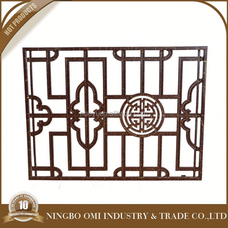Iron stair handrail/outdoor wrought iron stair railing/Wrought model italian balcony iron railings designs/balcony gril