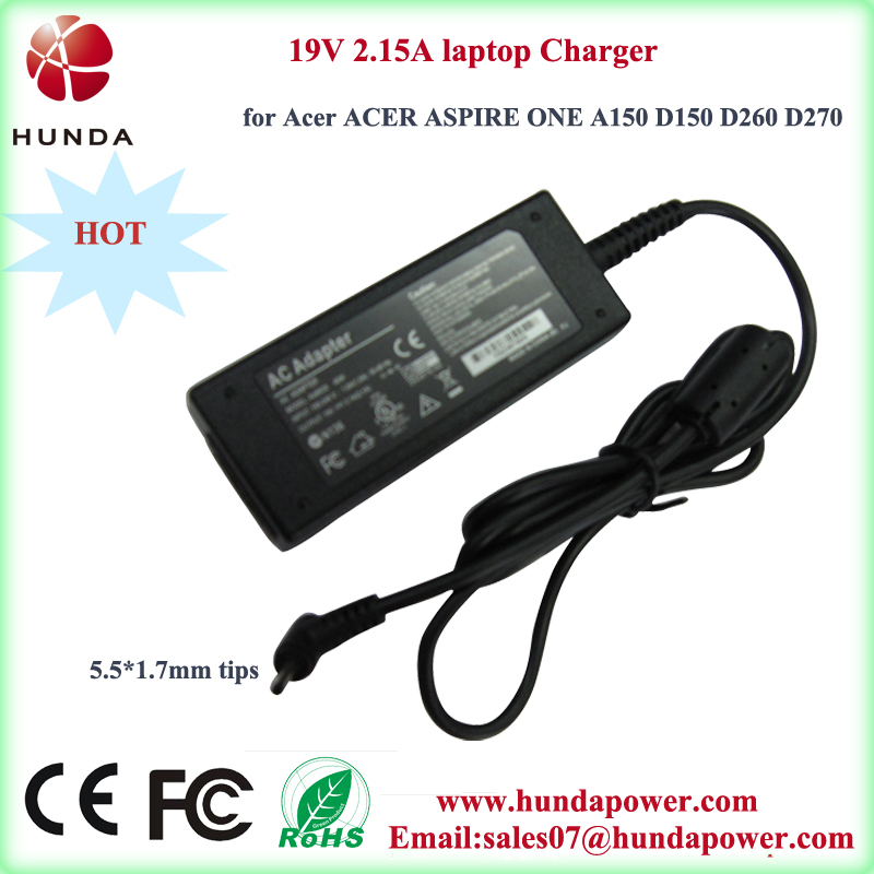 19v 2.15amp Power Supply Laptop Charger For Acer Acer Aspire One ...