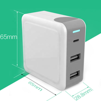 PD 45W 65W USB Type C Wall Charger Fast Charging Power Adapter for Apple Macbook for Dell laptop for Samsung S10 for iPhone X