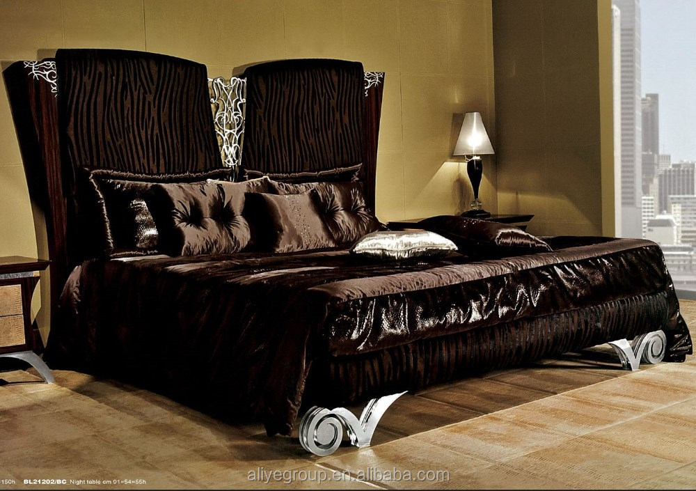 wholesale price european style solid wood luxury bedroom set bl21201b