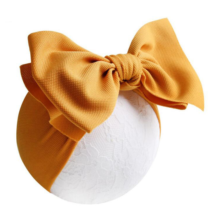 16 colors 7 Inches Newborn Baby Wrap <strong>Headband</strong> with Bow