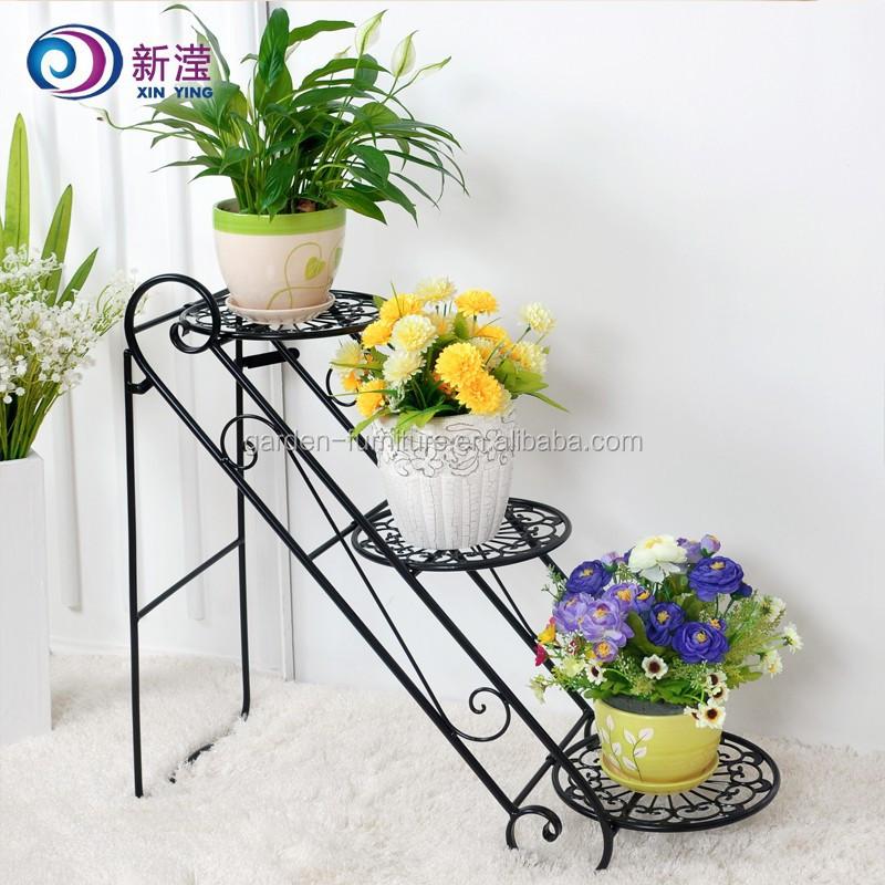 Xy1305 unique accueil d cor jardin m tal usine stand 3 for Decoration jardin metal