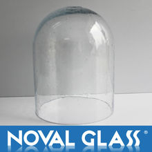 Tube glass lamp shade, Decorative Glass Shade, Art Glass Lamp Cover