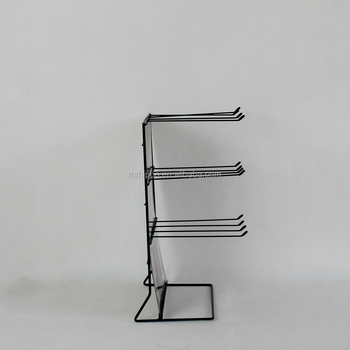 Wire Counter Top Display Rack Small Metal Stand Iron